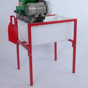 Mühlengestell, rot lackiert