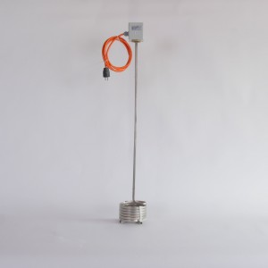 Erwärmer 2,2 kW / 230 V Edelstahl