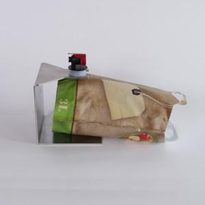 Halter für Beutelabfüllung - 135mm