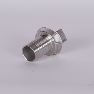 GEKA-Schlauchstück  25 mm  Edelstahl
