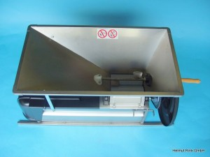 Traubenabbeermaschine Handbetrieb