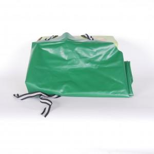 Kelterschürze grün 55 x 75 cm -  Kindergröße