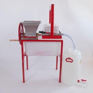 Hausmosterei Standard mit Packpresse